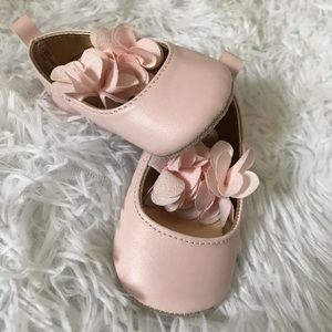 Blush Shoes for Baby Girl